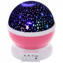 Ночник-проектор Star Master звездное небо Pink