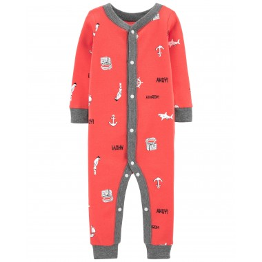 Пижама детская трикотажная Carters 4 года, р. 99-105 см (1202)