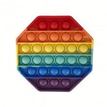 Антистресс-игрушка Pop It Силиконовая Восьмиугольник
