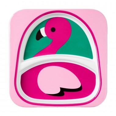 Тарелочка Skip Hop Фламинго (1185)