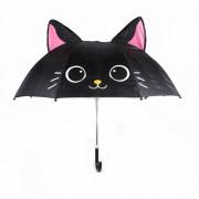 Зонт детский трость SHANTOU Кошечка (1158)